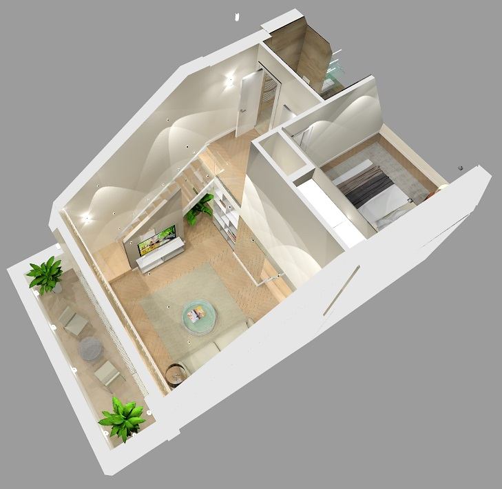 design layout of apartment