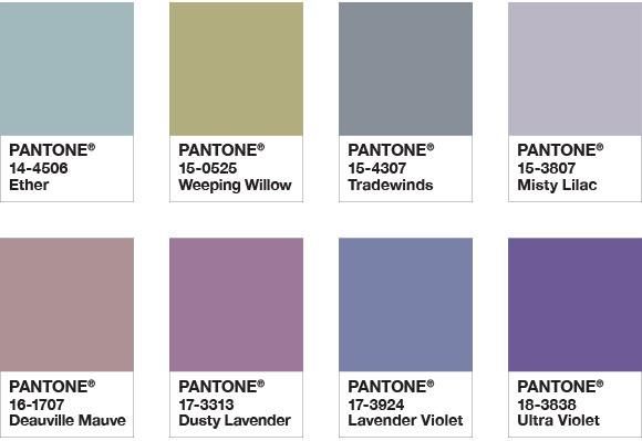 pantone színek a lakásban