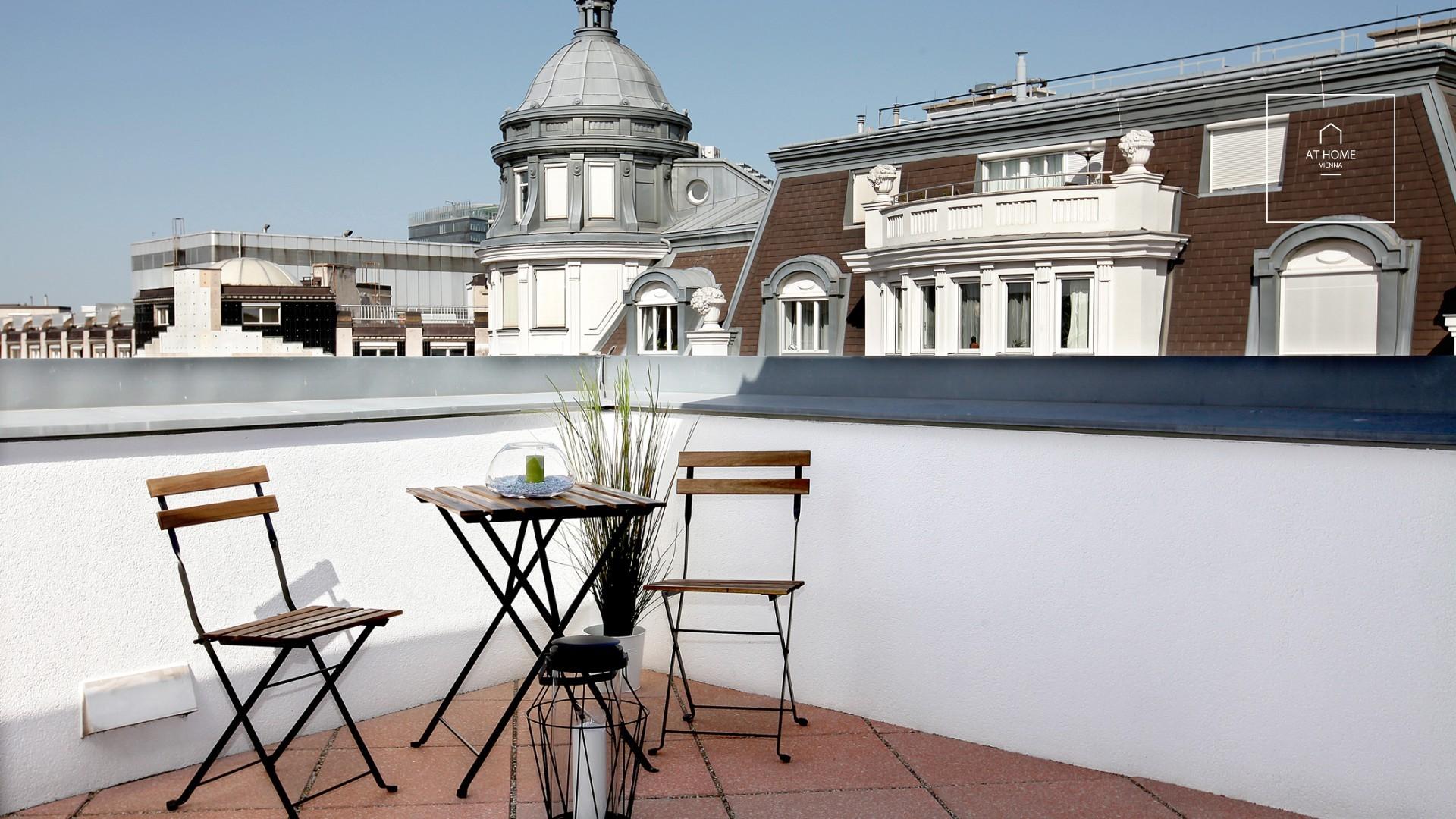 vienna penthouse terrace