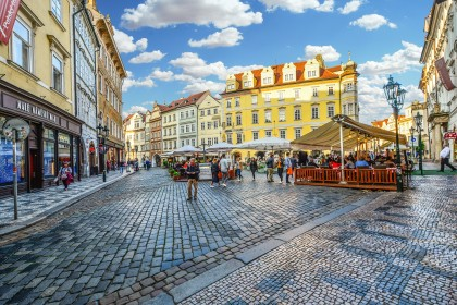 Prague is the ninth most popular destination in Europe