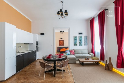 3-bedroom apartment for rent in Budapest IX. district